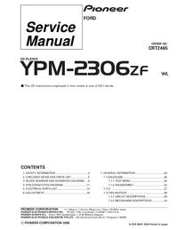 Manuale di servizio Pioneer YPM-2306ZF