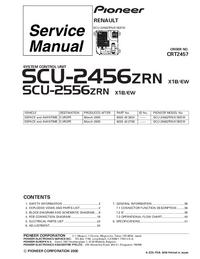 Service Manual Pioneer SCU-2556ZRN