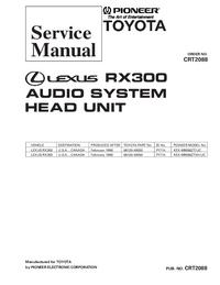 Manuale di servizio Pioneer KEX-M9086ZT/UC