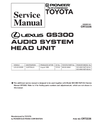 Service Manual Pioneer KEX-M8176ZT-02/AU