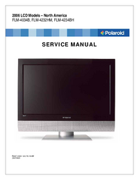 Service Manual Polaroid FLM-4234BH