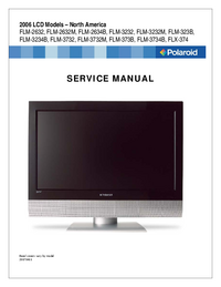 Service Manual Polaroid FLM-3734B