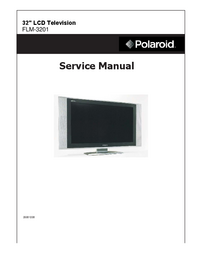 Service Manual Polaroid FLM-3201