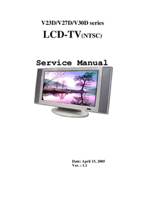 Service Manual Polaroid V30D Series