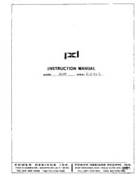 Servizio e manuale utente Power_Designs 5015T