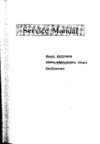 Manuale di servizio Protek 6506