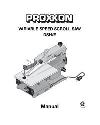 Manual del usuario Proxxon DSH/E
