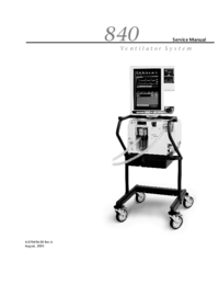 Manual de serviço PuritanBennett 840