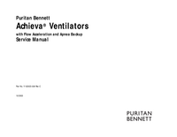 Service Manual PuritanBennett Achieva®