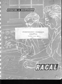 Serviço e Manual do Usuário Racal RA. 98