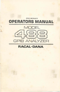 Manual del usuario Racal_Dana 488