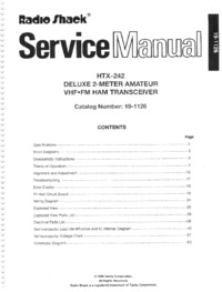 RadioShack-8929-Manual-Page-1-Picture