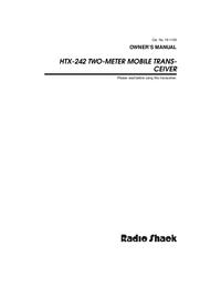 Gebruikershandleiding RadioShack HTX-242