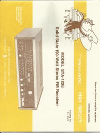Manuale d'uso, Cirquit Diagramma Realistic STA-120B