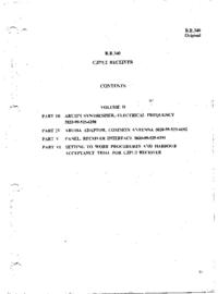 Servicio y Manual del usuario Redifon B.R.340