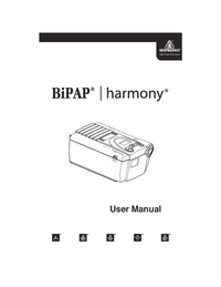 User Manual Respironics Harmony