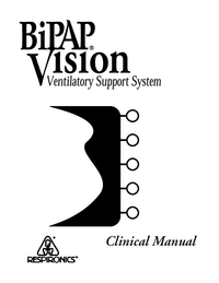 Manuale d'uso Respironics Bipap Vision