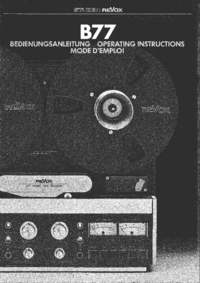 Revox-12449-Manual-Page-1-Picture