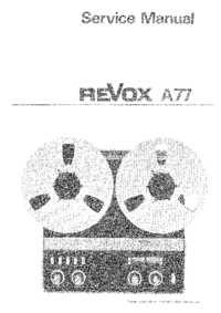 Revox-1599-Manual-Page-1-Picture