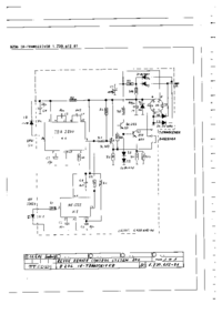 Cirquit diagramu Revox B219