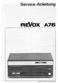 Revox-7372-Manual-Page-1-Picture