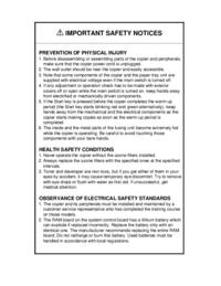 Manual de servicio Ricoh Aficio 200
