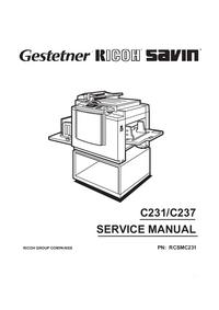 Serviceanleitung Ricoh C231