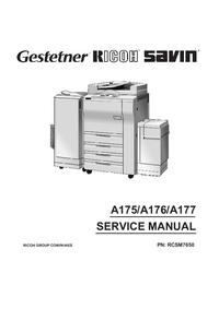 Instrukcja serwisowa Ricoh FT7670