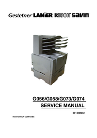 Service Manual Ricoh AP2610