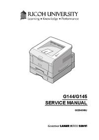 Service Manual Ricoh BP20