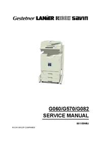 Instrukcja serwisowa Ricoh AP3800C