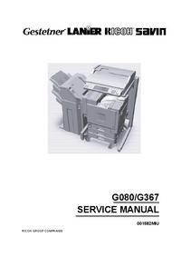 Serviceanleitung Ricoh Aficio CL7000 CMF