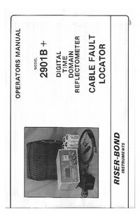Manuale d'uso Riser_Bond 2901B+