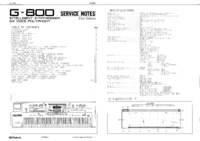 Service Manual Roland G-800