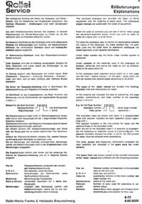 Manual de serviço Rollei 35