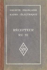 Service et Manuel de l'utilisateur SFR RU93