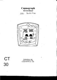Руководство по техническому обслуживанию SIMSGraseby Capnograph 8400
