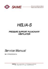Service Manual Saime HELIA-S