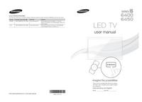 Gebruikershandleiding Samsung 6450