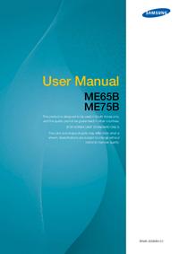 User Manual Samsung ME65B