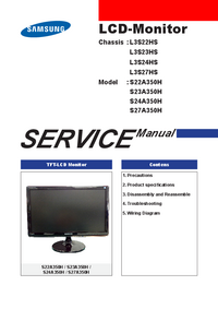 Service Manual Samsung S24A350H