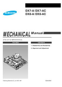 Service Manual Samsung DX7-A