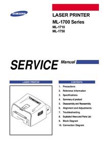 Service Manual Samsung ML-1700 Series