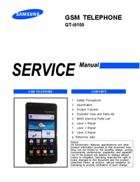 Serviceanleitung Samsung GT-i9100
