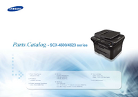 Part Elenco Samsung SCX-4623 series
