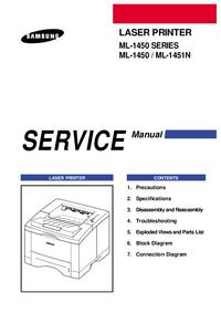 Manuale di servizio Samsung ML-1450