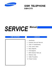 Service Manual Samsung SGH-C170