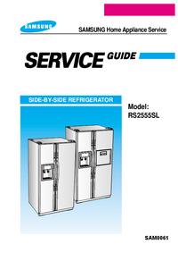 Manual de serviço Samsung RS2555SL