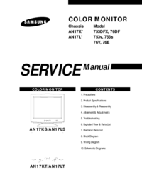 Manual de servicio Samsung 76DF