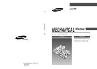 Руководство по техническому обслуживанию Samsung DX-9R